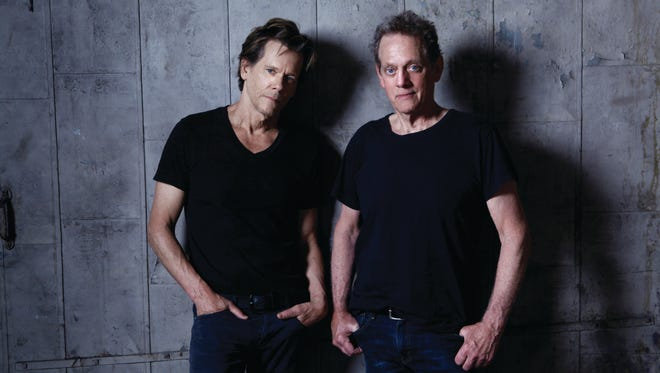 The Bacon Brothers, Kevin and Michael, kick off the Arkansas State University-Mountain Home Performing Arts Series with a concert on June 20 at The Sheid.