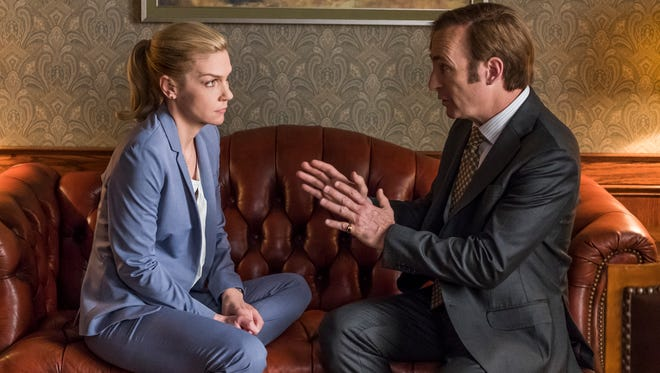 "In Season 4 of 'Better Call Saul', premiering Aug. 6 (AMC, 9 EDT/PDT), Jimmy (Bob Odenkirk) and lawyer girlfriend Kim Wexler (Rhea Seehorn) begin to question what's most important to them after her sleep-deprived, near-fatal car crash last year. ""Kim has has been burning the candle at both ends,"" co-creator Peter Gould says. ""She worked herself to the point that she had a terrible car accident, and now she's in a place where she's really reevaluating what the law means to her and how she wants to spend her time."""