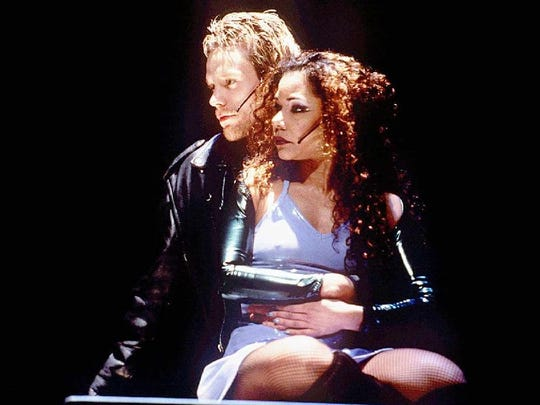 "Adam Pascal and Daphne Rubin-Vega, original stars of ""Rent"" will reunite at the Shore on June 3."