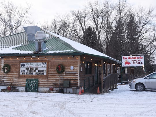 The Boondocks BBQ and Grill is on Ohio 60 north of McConnelsville.