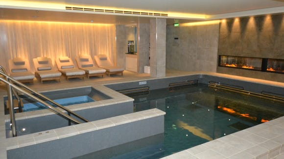 The elegant thermal suite in the Viking Star's LiV