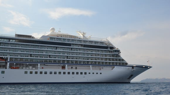 Viking Star is the first of three ships to sail for