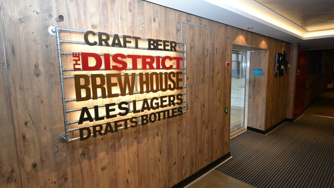 The District Brew House on Norwegian Cruise Line's new Norwegian Escape boasts 24 beers on tap.