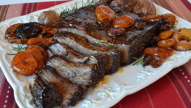 Brisket with Dried Fruit