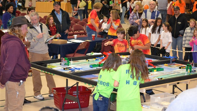Students from across Otero County participated in the 2016 Otero County First Lego League Competition at New Mexico State University-Alamogordo on Saturday Jan. 16.