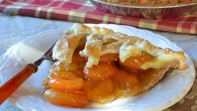 A piece of Apricot Pie.