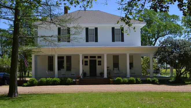 """Chickama, a 103-year-old house near Lecompte, has joined the National Register of Historic Places in the architectural category. The owner, Sara Fuhrer, says that will """"raise the profile"""" of the house, which is used for a small bed and breakfast operation."""