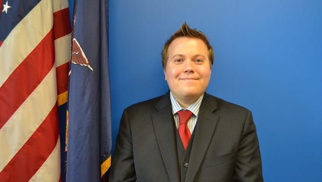 Sean Britton was named Broome County's director of public health at Thursday's county legislature meeting.