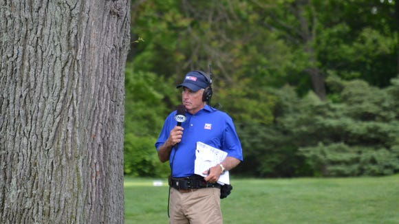Curtis Strange, a former U.S. Open champion, made his FOX Sports debut on Tuesday during the quarterfinals of the U.S. Amateur Four-Ball Championship at Winged Foot.