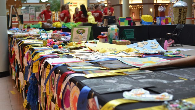 Springettsbury Township's 60th annual Arts and Crafts Show will be displayed Thursday through Sunday at the York Galleria.