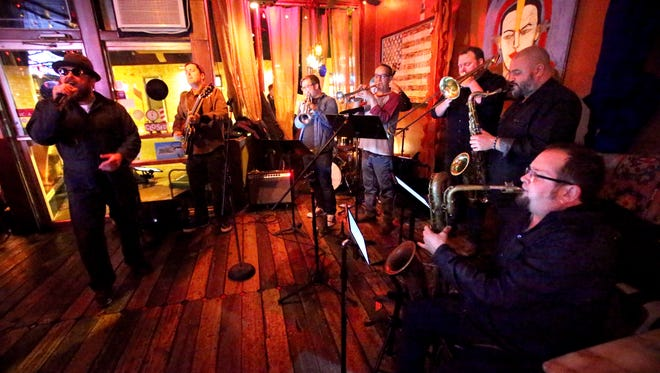 Love Light Orchestra performs at Bar DKDC in Cooper Young.