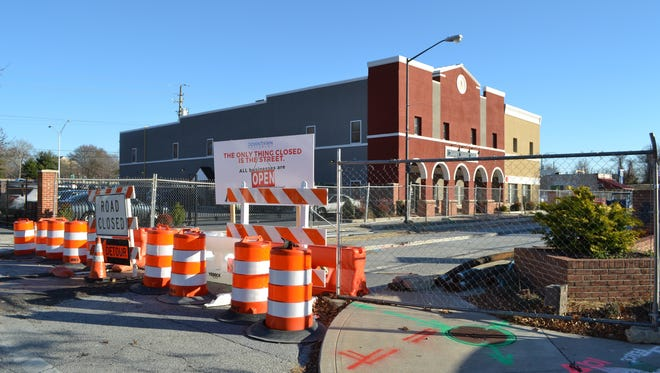 Work on Salisbury's Main Street project has been halted since Oct. 28, but is expected to start again soon.