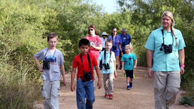 Aransas Pathways nature walks are scheduled for the first Saturday of each month.