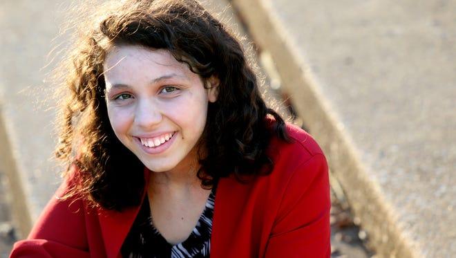 Pauline Mireles has helped lead her mock trial team at Germantown High School the last three years, despite not having a lawyer overseeing the team.