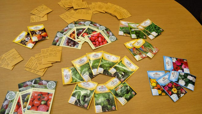 Dozens of varieties of seeds will be available at the Johnson County Master Gardeners Seed Share event.