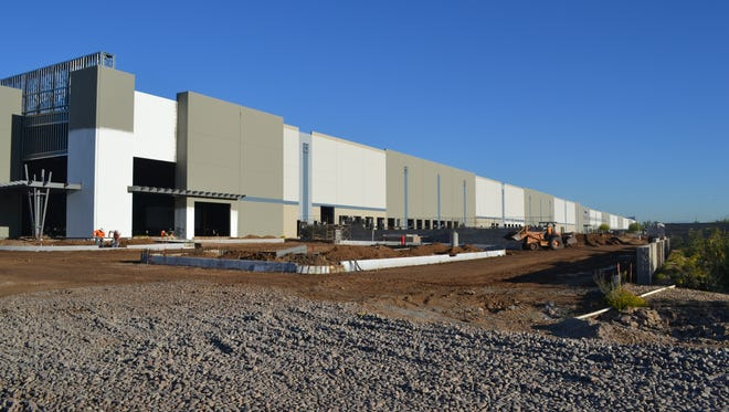 SanMar, a distribution warehouse for imported sports clothing in Avondale, will become the city's first 1 million sq. ft. facility.