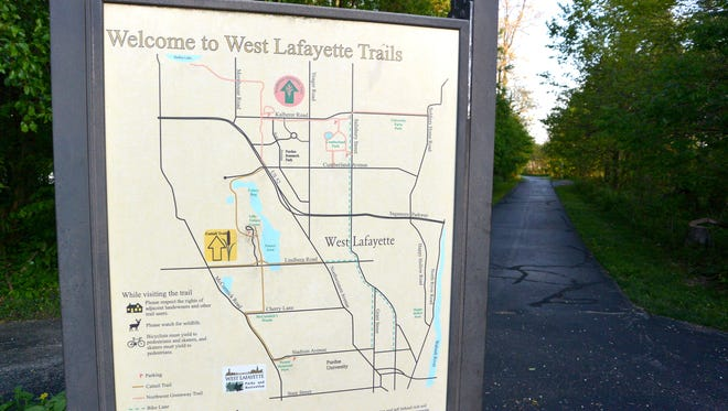 West Lafayette's Cattail Trail is a good place to start your training for a 5K.