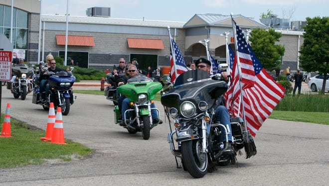 The 2017 Patriot Tour, a cross-country motorcycle ride, raised $200,000 for wounded veterans and their families.