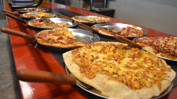 Home Slice Pizza Buffet opened recently in Lafayette.