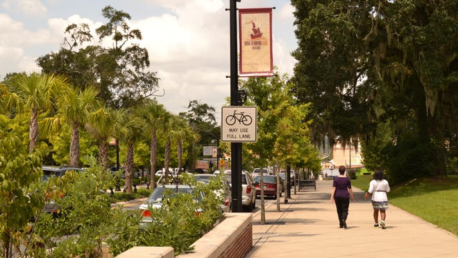 Trees on Gaines Street contribute environmental, economic, cultural, and public health benefits.
