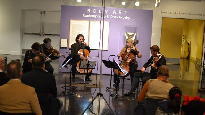 The 2018 El Paso Pro-Musica Chamber Music Festival will once again feature the free Bach's Lunch series Thursdays at the El Paso Museum of Art, Downtown.