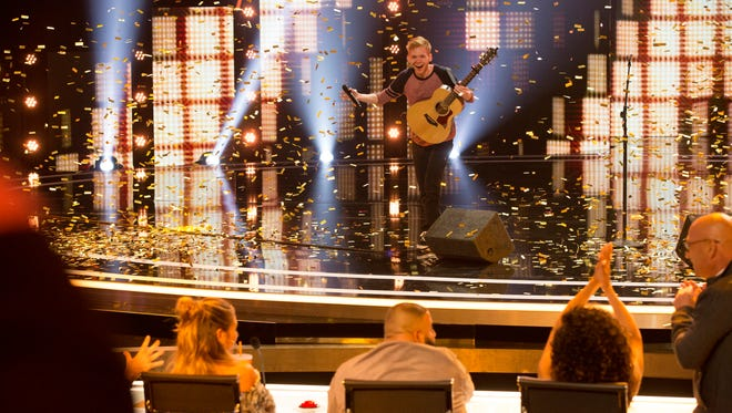 "Chase Goehring performs on ""America's Got Talent"" season 12."