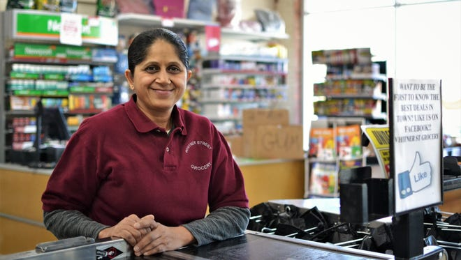 Tina Patel is a cashier at Whitner Street Grocery, which opened up at 511 W. Whitner St. in late 2017. It's a scratch-and-dent grocery store designed to serve residents living on the west side of Anderson who don't have easy access to a typical supermarket.