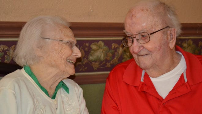 Mary and Howard Sachs celebrated their 73rd wedding anniversary on January 22. Howard attributes their long, successful marriage to one thing: they are in love.