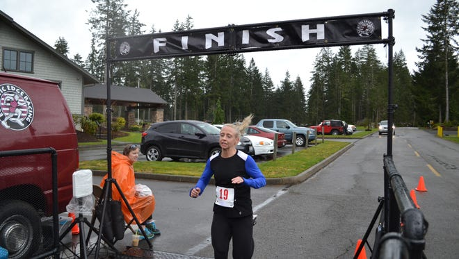 Mandy Cowan, 31, of Snoqualmie came in No. 1 among women at the Traveler 5.5K last year. Registration for this year's race opens this month.