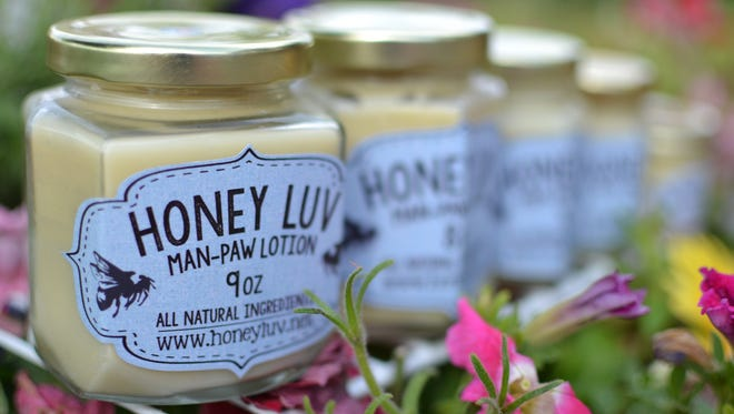 """Honey Luv's """"Man-Paw"""" lotion is just a re-labeled version of the original formula that is marketed toward men."""
