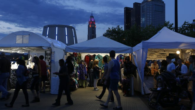 Image from a recent Columbus Arts Festival