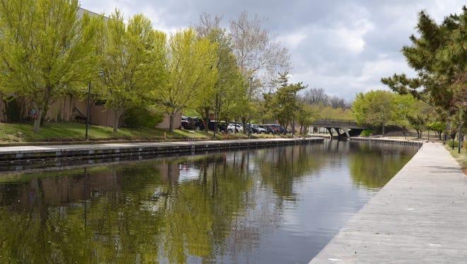 A view of the Riverwalk in Salisbury.