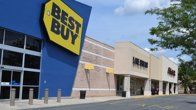 Best Buy is one of the anchor stores at The Commons in Salisbury.