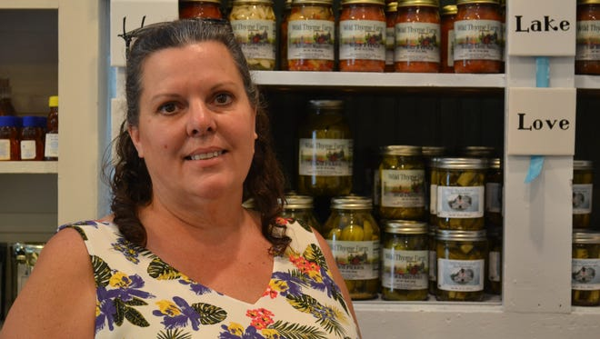 Patti Wandover said moving her business to Marblehead has allowed her to focus more on what her customers want.