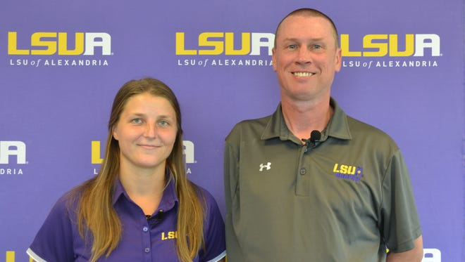Michael Poropat (right) will take over as head coach of the men's soccer team and also received a promotion to assistant athletic director, while Nea Sunila was named the head coach of the women's team.