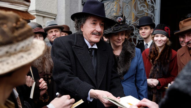 Albert Einstein (Geoffrey Rush),  center, featured in National Geographic's 'Genius,' is the latest brilliant character to grace the TV screen.