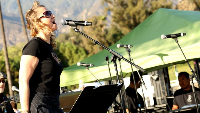 Joan Osborne at the 30th Running of the Breeders' Cup World Championships Day 2, on Saturday, November 2, 2013 in Arcadia, California.