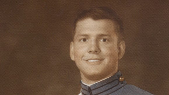 Roy Moore as a cadet at West Point. Moore graduated in 1969.