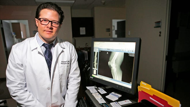 Dr. Michael Gott, a White Plains orthopedic surgeon, is a member of the ski patrol at Windham Mountain Ski Resort.