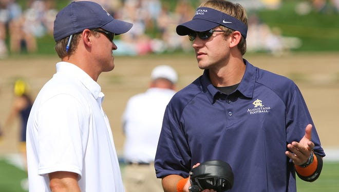 John Van Dam worked as an Augustana assistant before moving up to Division I coaching
