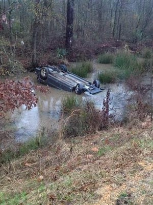 A 4-year-old girl was trapped in this car for more than 5 minutes, under water.