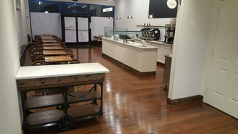 The new dining room of Patisserie Florentine in Closter