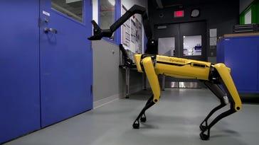 Boston Dynamics' latest robot is a door opener