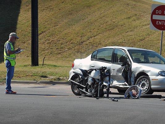 Motorcycle Wreck IowaParkRd 1
