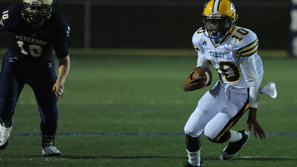 Shelby Crest is one of the state's top-20 football programs in the past decade, according to MaxPreps.