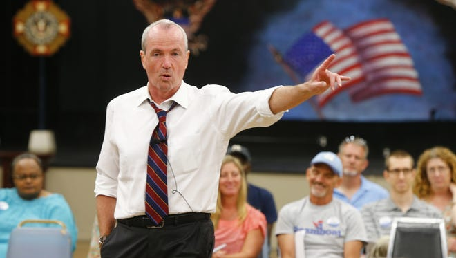 Phil Murphy, the leading candidate for the Democratic New Jersey gubernatorial nomination next year, said he'll cancel the state takeover of Atlantic City if he is elected.