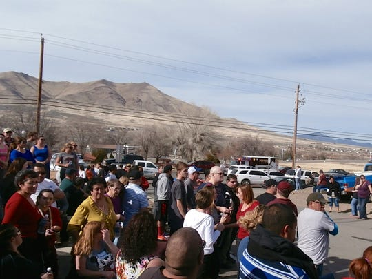 Winnemucca Junior High school was evacuated on Thursday,
