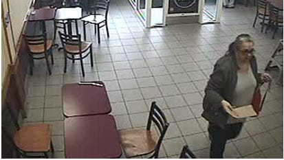 Keansburg Police are seeking the public's help to identify this woman, who they say witnessed criminal mischief at a Dunkin' Donuts.