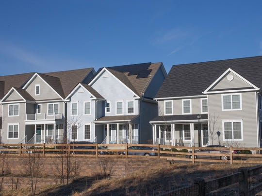 Pine River Village across from the site of a future