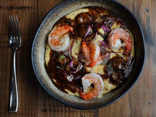 A shrimp & grits dish is a winner at the Riverview